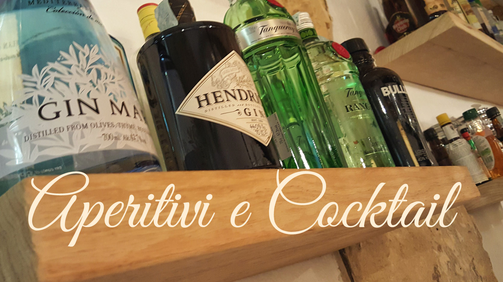 aperitivi e cocktail